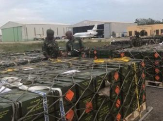 BOKO HARAM IN TROUBLE AS NIGERIAN ARMY RECEIVES LARGE CARGO OF ARMS