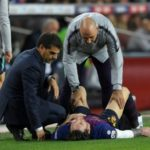 BARCELONA IN TROUBLE OVER MESSI'S INJURY