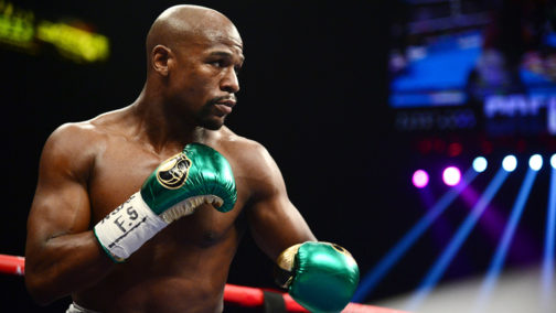 MAYWEATHER SAYS HE'S READY TO FIGHT NURMAGOMEDOV
