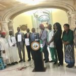ANOTHER U.S. CITY HONOURS NIGERIA WITH HOISTING OF FLAG