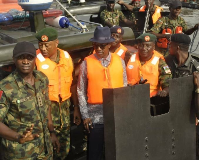 "NIGERIAN ARMY OFFICIALLY KICK OFF OPERATION ""CROCODILE SMILE 3"" IN BAYELSA STATE"