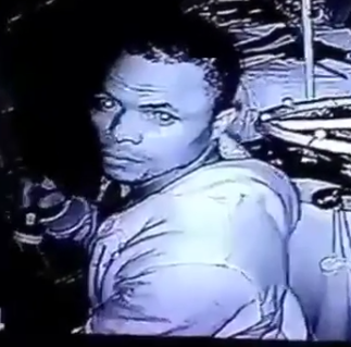 CCTV CAMERA RECORDS AN UNIDENTIFIED MAN STEALING FROM A BOUTIQUE IN LAGOS