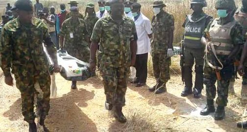 GEN. ALKALI'S BODY KEPT IN SACK LADEN WITH STONE, THEN THROWN INTO WELL