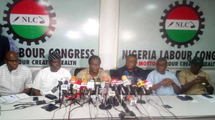 LABOUR INSISTS ON STRIKE ON TUESDAY, SHUNS MEETING WITH FG