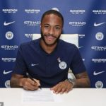 FOOTBALL STAR RAHEEM STERLING OFFICIALLY SIGNS NEW £300,000 PER WEEK DEAL WITH MAN.CITY, BECOMES ENGLAND'S HIGHEST-EARNING player