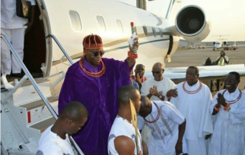 BENIN MONARCH VISITS ABUJA AHEAD OF PRINCE CHARLES