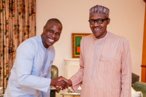 OBASANJO'S SON TO BUHARI: DON'T MIND MY DAD