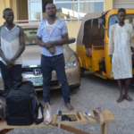 FCT POLICE ARREST FOUR 'ONE CHANCE' SUSPECTS, FEMALE UNDERWEAR FOUND ON THEM