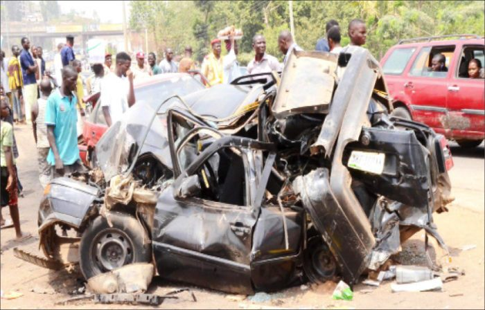 5 DIE, 9 CRITICALLY INJURED IN ENUGU AUTO-CRASH – POLICE