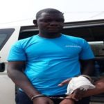 PHOTO: NOTORIUS BOKO HARAM SUSPECT APPREHENDED IN LAGOS