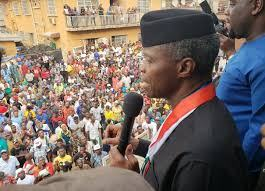 FUTURE OF LAGOS BRIGHTER WITH BUHARI -OSINBAJO ASSURES LAGOSIANS