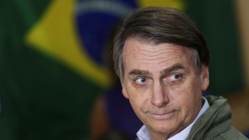 BRAZIL'S NEW PRESIDENT SAYS HE IS OPEN TO HOSTING A U.S. MILITARY BASE