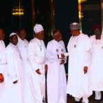 2019 POLL: CHERUBIM AND SERAPHIM LEADERS VISIT BUHARI