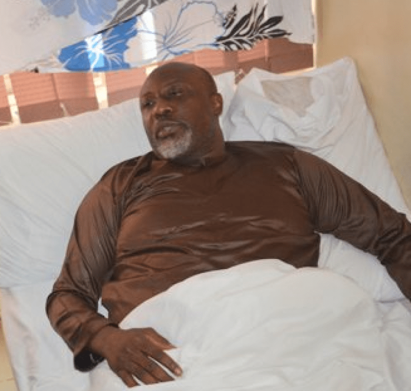 SEN. MELAYE SPEAKS FROM HOSPITAL BED