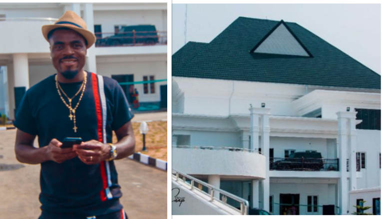 PHOTO FROM FOOTBALLER EMMANUEL EMENIKE'S MANSION LAUNCH IN OWERRI