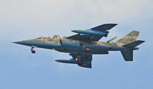 ANOTHER TERRORISTS' HIDEOUT DESTROYED IN BORNO BY NAF