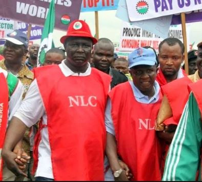 NIGERIA LABOUR CONGRESS SWIFTLY REJECTS THE N27,000 MINIMUM WAGES ADOPTED BY THE NATIONAL COUNCIL OF STATE