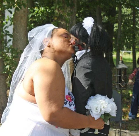 WOMAN GETS MARRIED TO HER ZOMBIE DOLL AND THEY'VE CONSUMMATED THEIR UNION