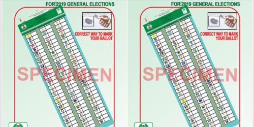 AT A GLANCE: THE FINAL POSITIONS OF ALL 73 PARTIES THAT CONTESTED PRESIDENTIAL ELECTION