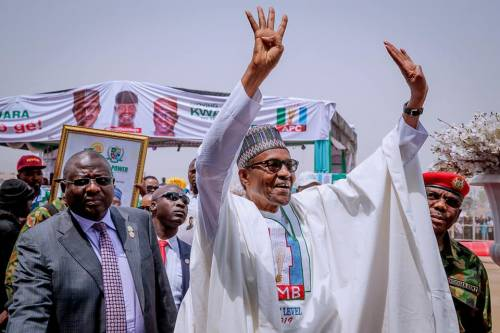 IT'S OFFICIAL: INEC DECLARES BUHARI WINNER OF NIGERIA'S PRESIDENTIAL ELECTION