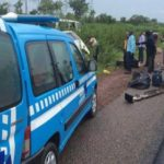 ONE KILLED, FOUR CRITICALLY WOUNDED IN IBADAN AS FRSC OFFICIALS CHASE MICRA DRIVER INTO A DITCH