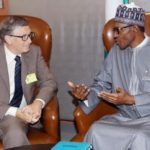 BILL GATES PHONES BUHARI, SAYS HE'S HAPPY