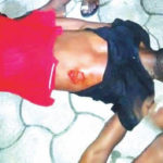 PHOTO: POLICE OFFICER ALLEGEDLY STABS MAN TO DEATH IN RIVERS STATE