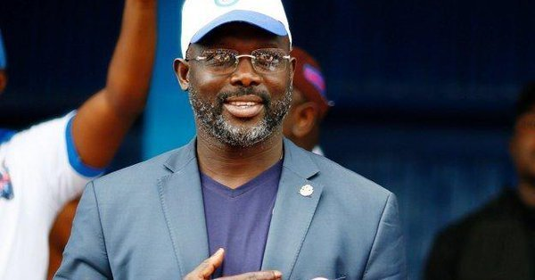 SNAKES CHASE LIBERIAN PRESIDENT, GEORGE WEAH OUT OF OFFICE