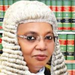 JUSTICE BULKACHUWA DISQUALIFY HERSELF FROM PRESIDENTIAL ELECTION TRIBUNAL