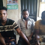 SUSPECTS RECOUNT HOW THEY KILLED TWO BUREAU DE CHANGE OPERATORS AND THREW THEIR BODIES INTO A SEPTIC TANK IN LAGOS AFTER COLLECTING THIER N1.6M