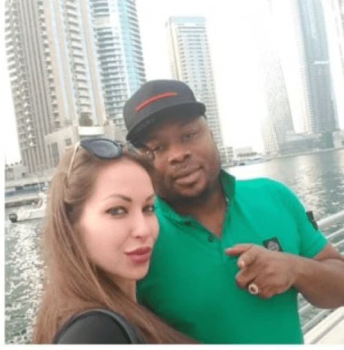 TONTO DIKEH'S ESTRANGED HUSBAND, CHURCHILL FINDS LOVE IN A WHITE WOMAN