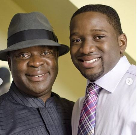 7-YEARS AFTER, LEVI AJUONUMA'S SON DJ OBI PAYS GLOWING TRIBUTE TO HIS DAD WHO DIED IN A PLANE CRASH