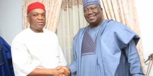ORJI KALU WAS MY UNIVERSITY ROOMMATE IN 1980 –SENATE PRESIDENT LAWAN