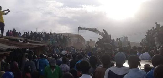MANY FEARED DEAD AS THREE-STOREY BUILDING COLLAPSES IN JOS