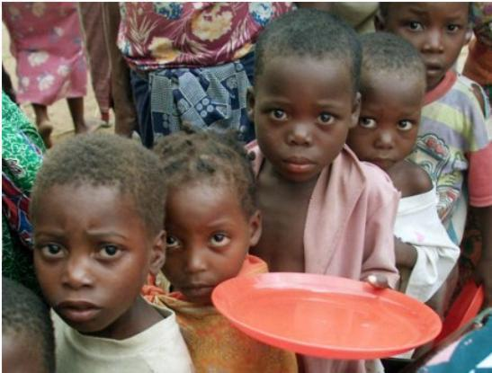 821M PEOPLE HUNGRY WORLDWIDE: UN