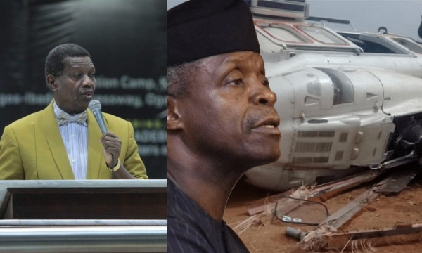 WHAT GOD TOLD ME ABOUT OSINBAJO'S HELICOPTER CRASH — PASTOR ADEBOYE