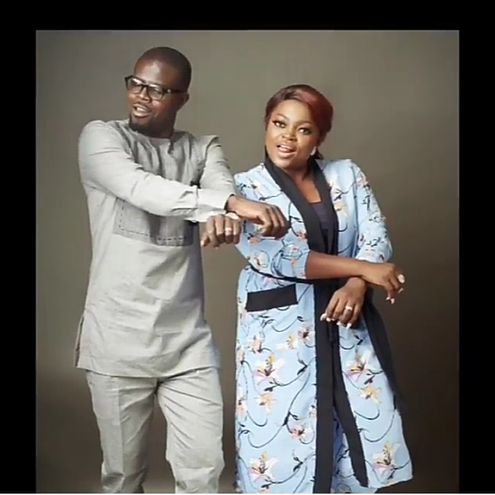 "MY KING I LOVE YOU BABA IBEJI"" – FUNKE AKINDELE SHOWERS HUSBAND JJC SKILLZ WITH ACCOLADES AS THEY MARK THEIR WEDDING ANNIVERSARY"