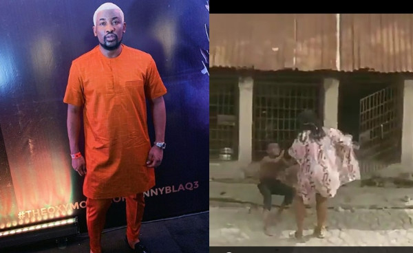 OAP DOTUN GIVES UPDATE ON SEARCH FOR LADY FILMED FLOGGING A BOY AND PUTTING HIM IN A CAGE WITH DOGS