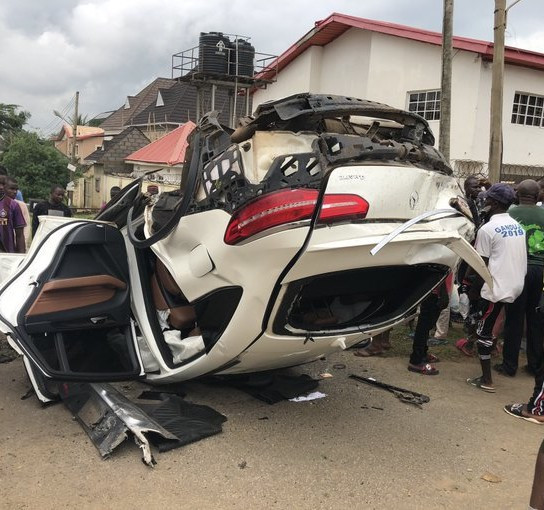 DRUNK DRIVER RETURNING FROM CLUB WITH GIRLFRIEND KILLS AT LEAST 4 PEOPLE IN ABUJA