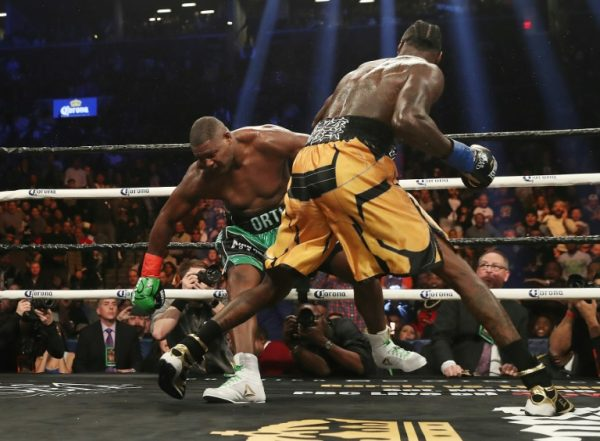 DEONTAY WILDER FACES CUBA'S ORTIZ IN NOVEMBER REMATCH