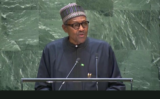 BUHARI TELLS WORLD LEADERS: FOREIGN CRIMINAL GANG OUT TO DUPE NIGERIA OF $BILLIONS