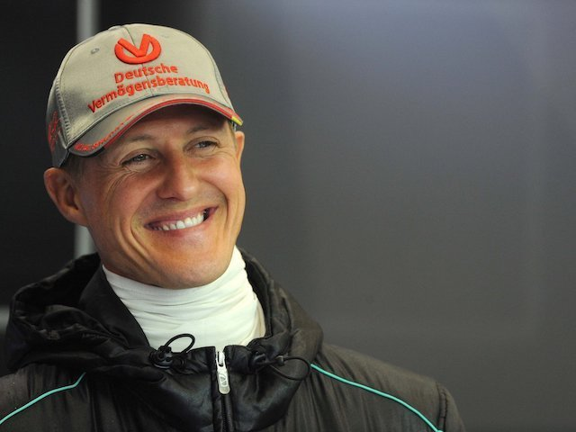 SCHUMACHER NOW CONSCIOUS