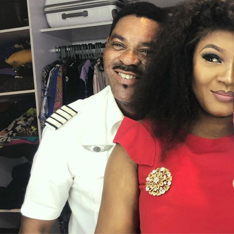 OMOTOLA EXPRESSES SHOCK AT HUSBAND'S STATEMENT
