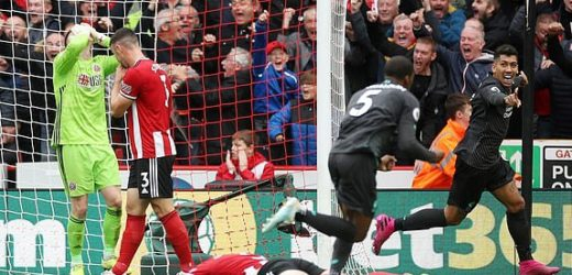 WIJNALDUM'S GOAL SECURES 7TH WIN FOR LIVERPOOL AT SHEFFIELD UNITED