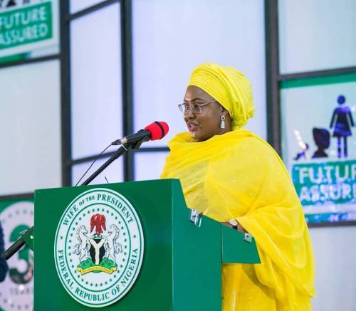 AISHA BUHARI: I'VE ACQUIRED 2.7 HECTARES OF LAND TO BUILD SECRETARIAT FOR FIRST LADIES