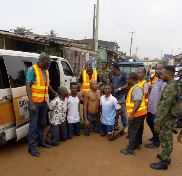 LAGOS ARRESTS RESIDENTS FOR INDISCRIMINATE WASTE DISPOSAL