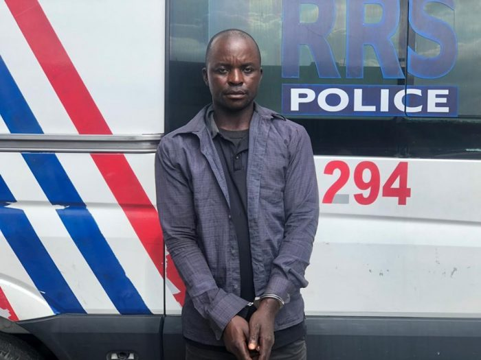 FAKE POLICE OFFICER CAPTURED IN LAGOS