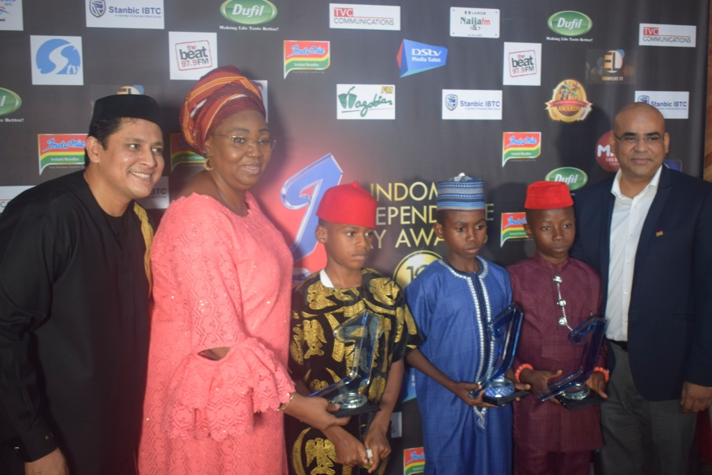 THREE EXCEPTIONAL KIDS WIN BIG AT 2019 INDOMIE HEROES AWARDS