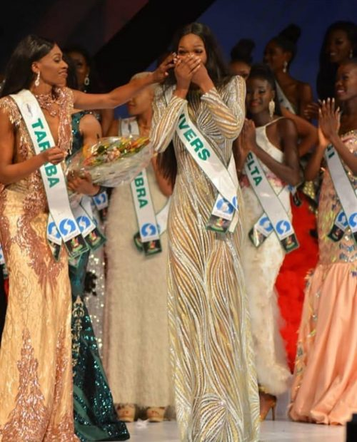 RIVER'S GIRL NYEKACHI DOUGLAS CROWNED MBGN FOR 2019(PHOTOS)