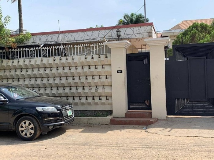 PHOTO NEWS: SARAKI'S IKOYI PROPERTIES FORFEITED TO FG